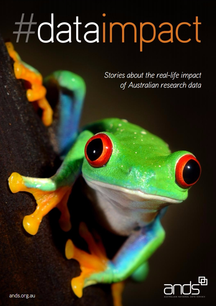 New book shows impact of Australian research data