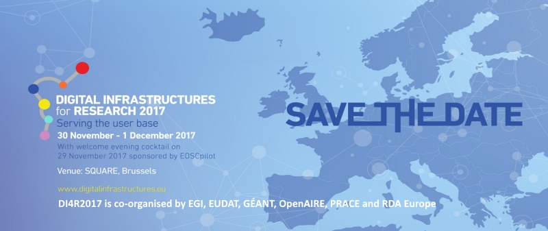Digital Infrastructure for Research DI4R2017, 30 November - 1 December 2017, Brussels, Belgium