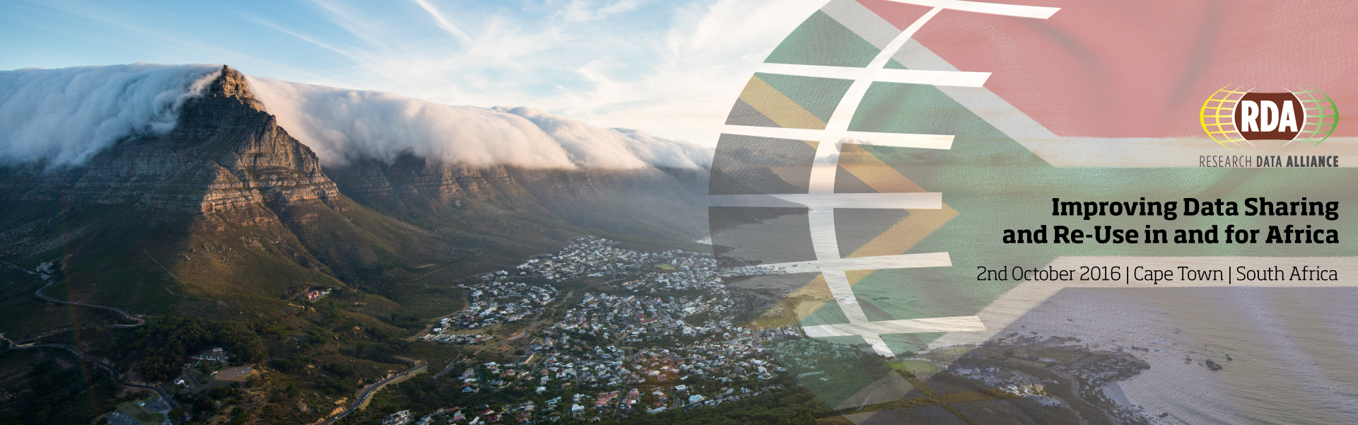 Improving Data Sharing and Re-Use in and for Africa, 2 October 2016, Cape Town, South Africa