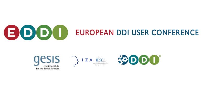 8th Annual European DDI User Conference EDDI16,  6-7 December 2016 in Cologne, Germany