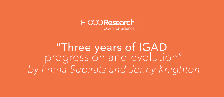 Three years of IGAD: progression and evolution