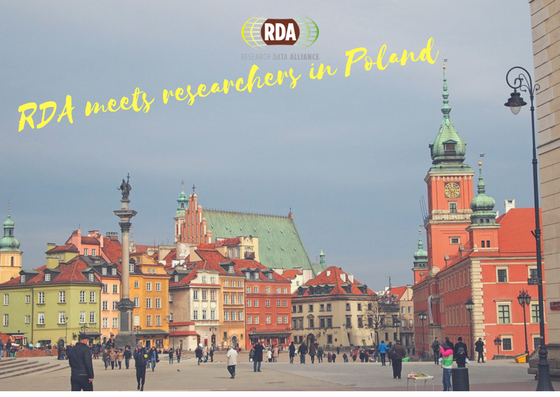 RDA Meets Researchers in Poland,1 February 2017, Warsaw, Poland