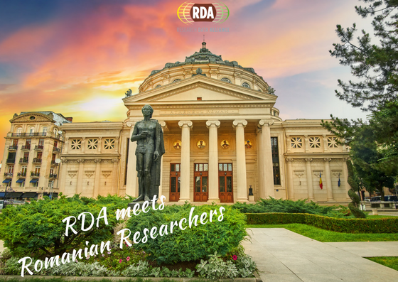 RDA meets Romanian researchers - 30 May 2017 - Bucharest - Romania