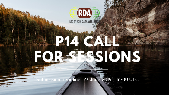 Plenary 14 Session Submission Deadline is Thursday!