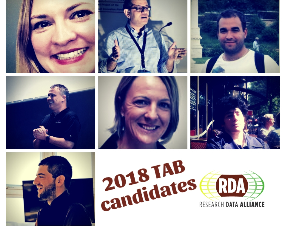 2018 RDA TAB Election: meet the nominated candidates!
