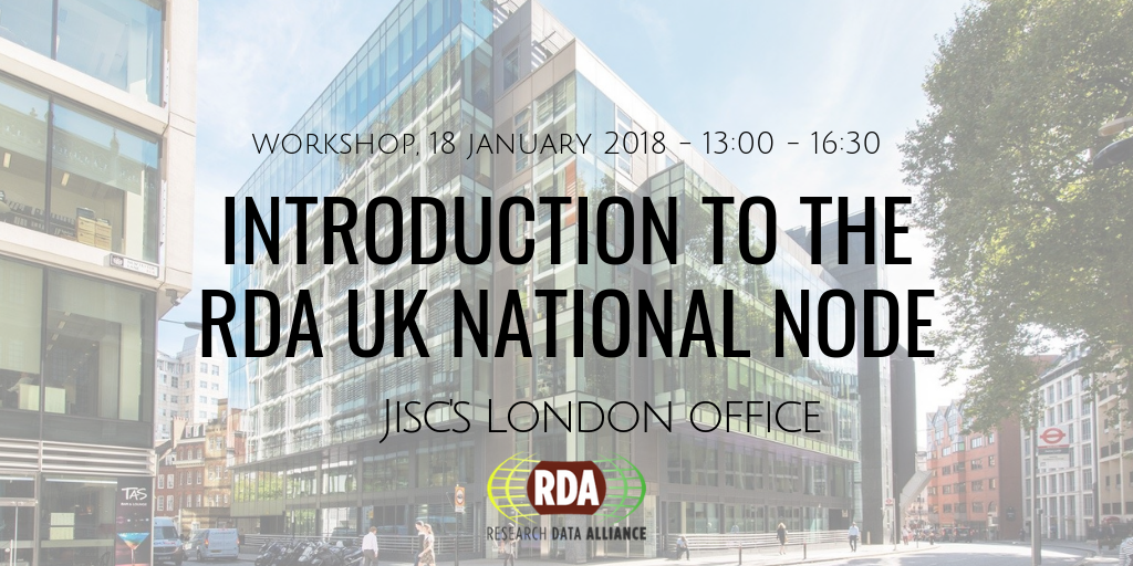 Introduction to the RDA UK national node