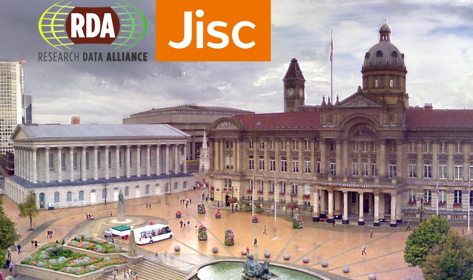 RDA Workshop @Jisc, 2 November 2016, Birmingham, UK