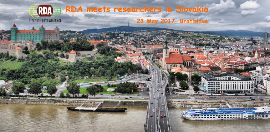 RDA meets researchers in Slovakia, 23 May 2017, Bratislava