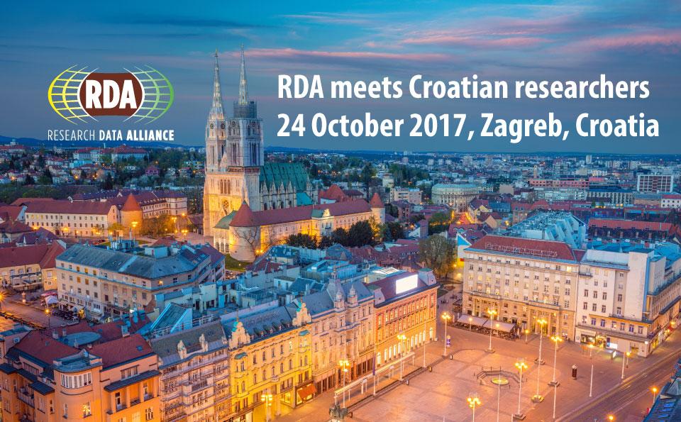 RDA meets Croatian researchers, 24 October 2017, Zagreb, Croatia