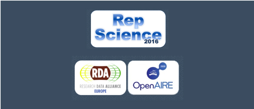 Second Call for Papers - Reproducible Open Science - an RDA/OpenAIRE Workshop, 9th of September 2016, Hannover, Germany