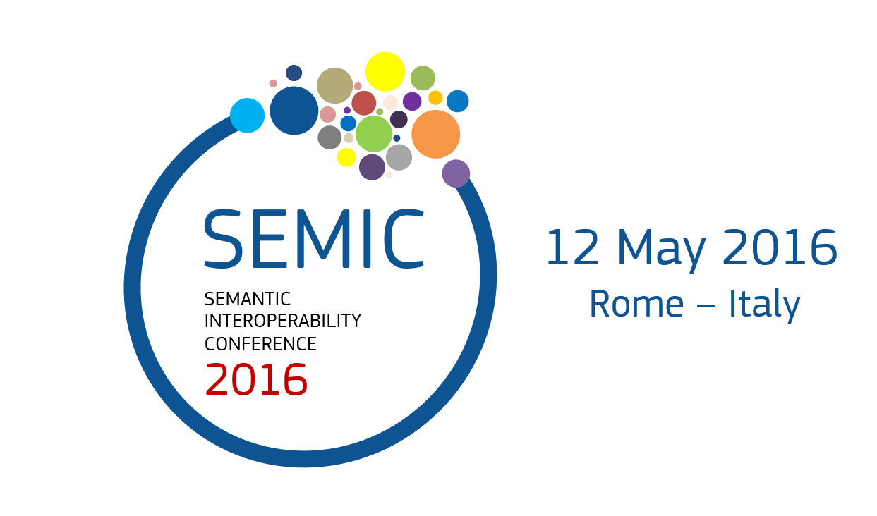 SEMIC 2016 - Semantic Interoperability Conference