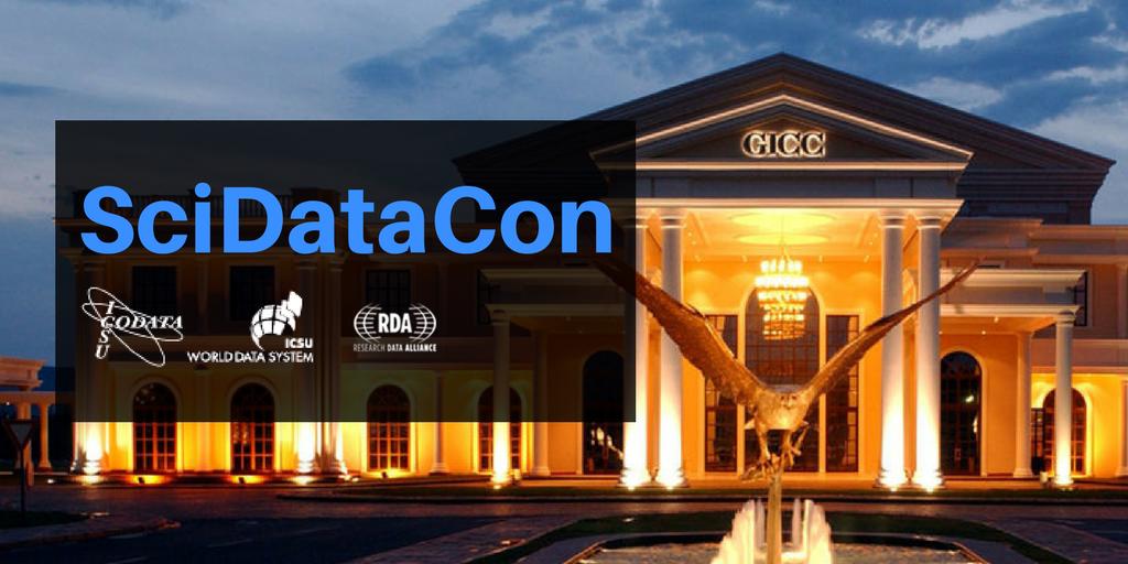 Two Weeks Left for International Data Week: SciDataCon 2018 Session Proposals