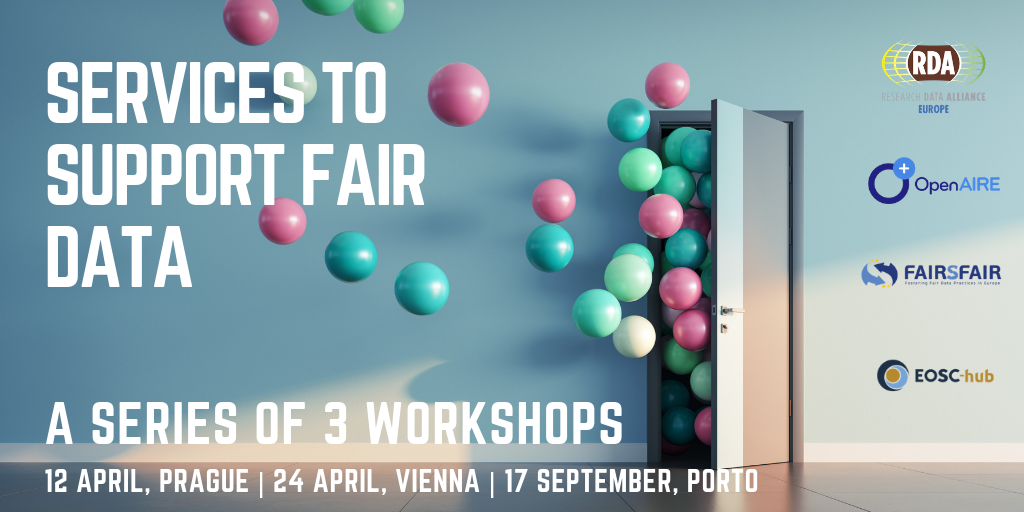 Services to Support FAIR Data: a series of three workshops in Europe