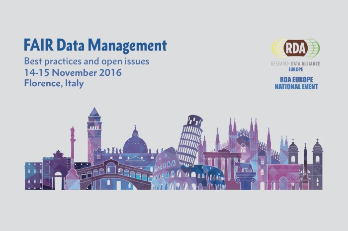 FAIR data management: best practices and open issues. RDA National Event in Italy