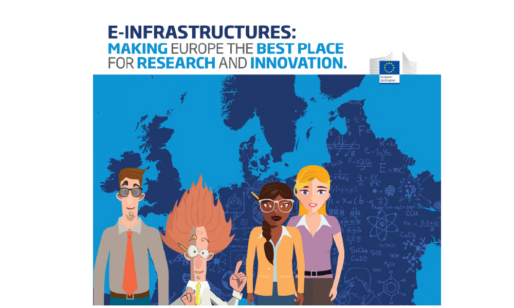 E-Infrastructures: Making Europe the best place for research and Innovation - Booklet published