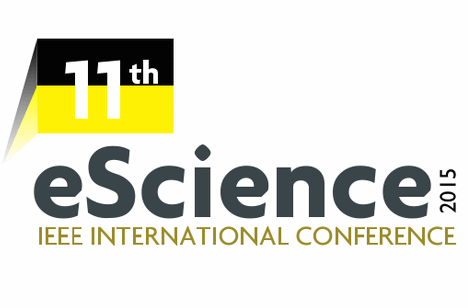 11th IEEE International Conference on eScience –  31 August to 4 September 2015, Munich, Germany