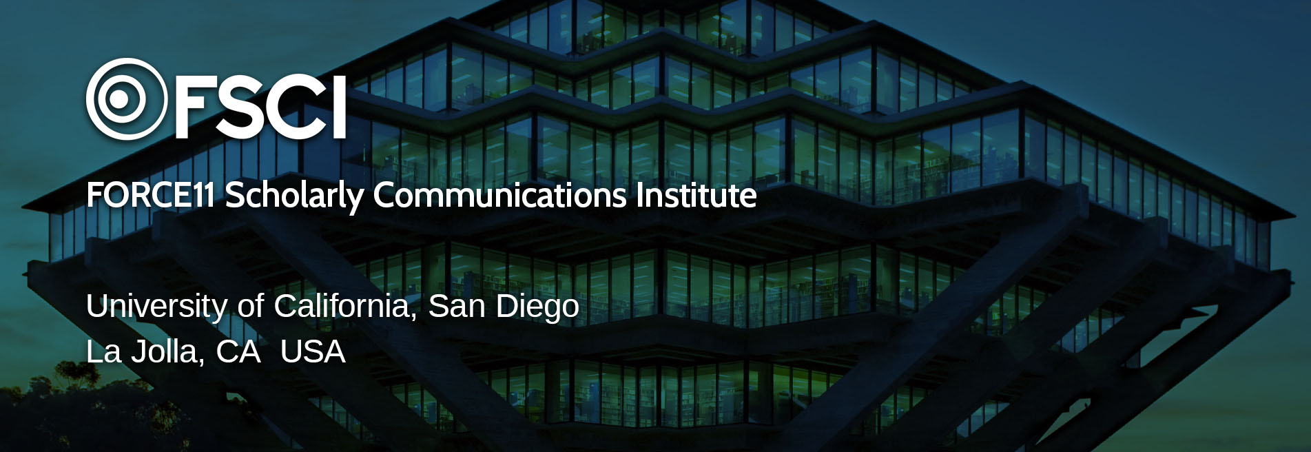 F11 Scholarly Communications Institute (FSCI 2018) - Call for Course Proposals