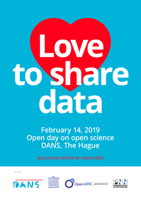 """""""Love to share data"""": February 14: open day on open science"""