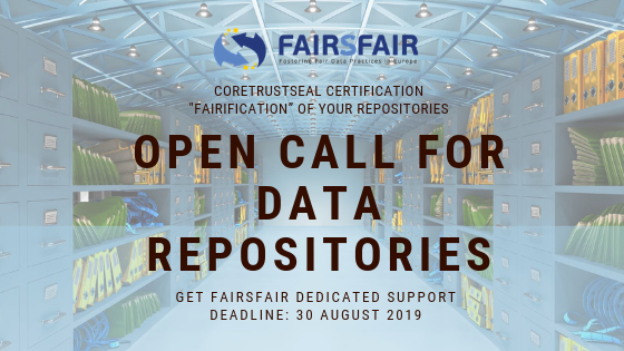 FAIRsFAIR Open Call for Data Repositories